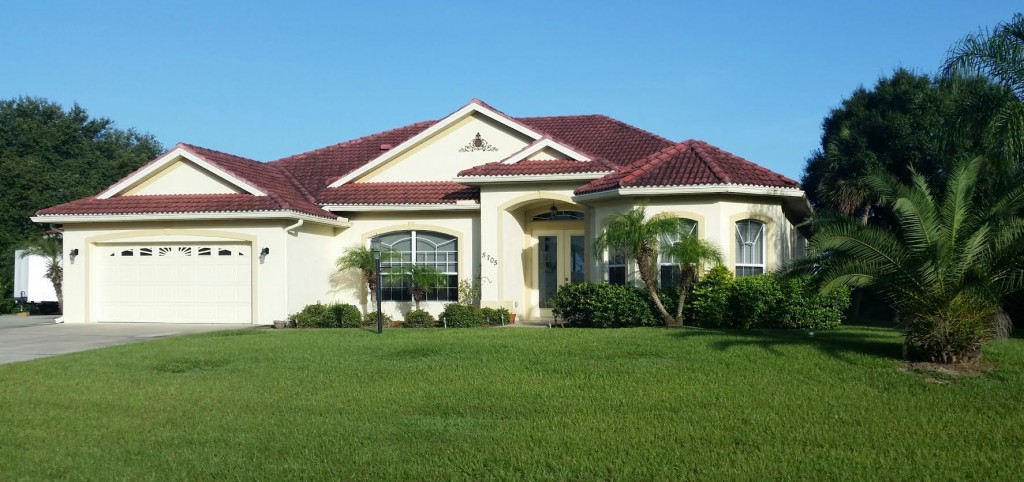 Home in Sarasota Florida that our company build.