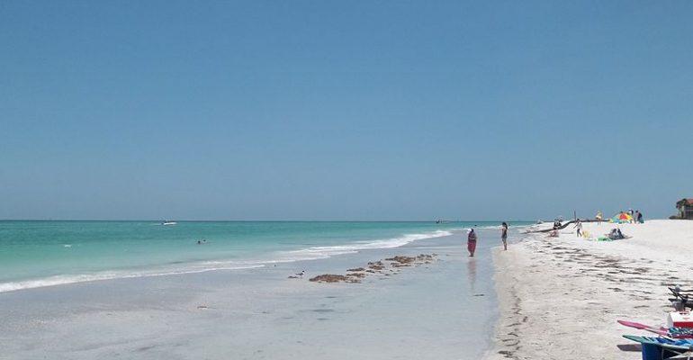Siesta Key beach  in  Sarasota Florida  named best beach in the U.S.