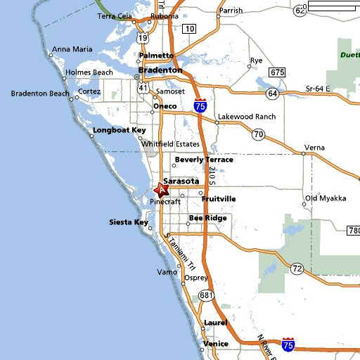 Sarasota_Fl_Map