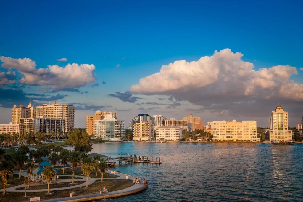 Sarasota waterfront, Florida