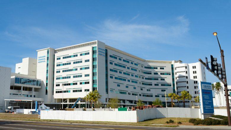 Sarasota Memorial Hospital was ranked the seventh best hospital in Florida