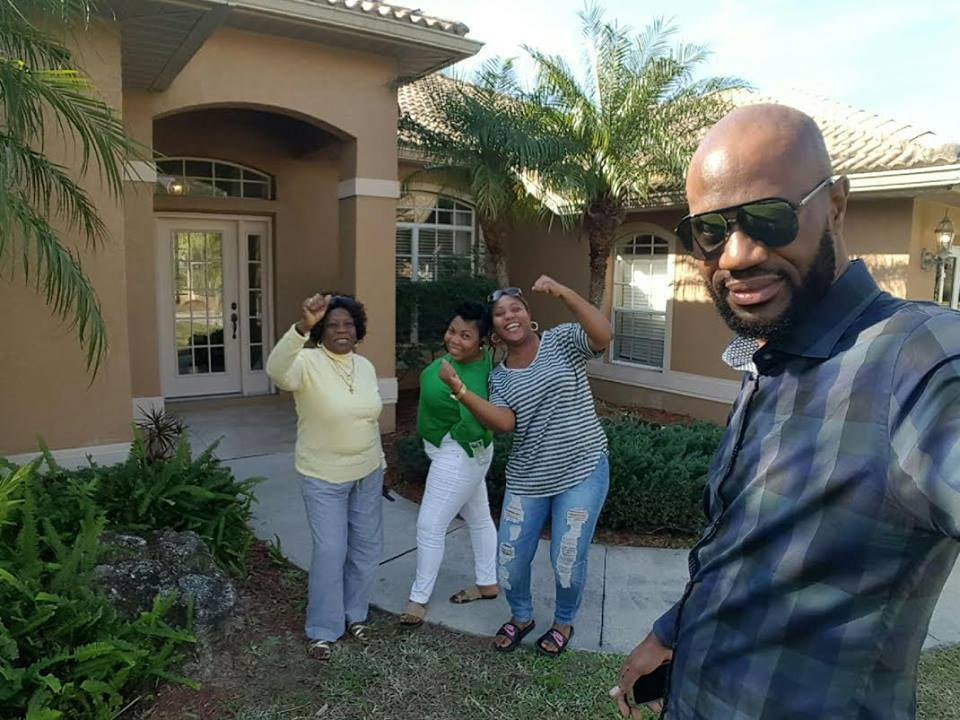 Selfie with some of my customers that I took to Sarasota Florida over the weekend to check out the area.. They Love Sarasota and are now proud owners of quarter acre land.