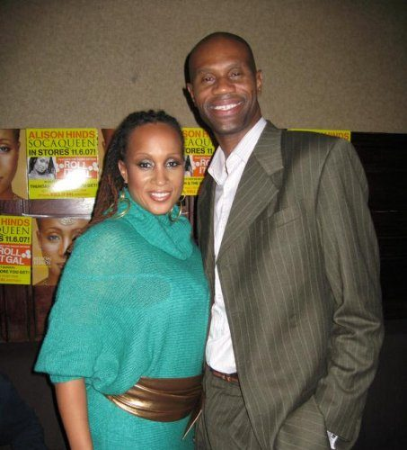 Phillip Miller and Soca Queen Alison Hinds.