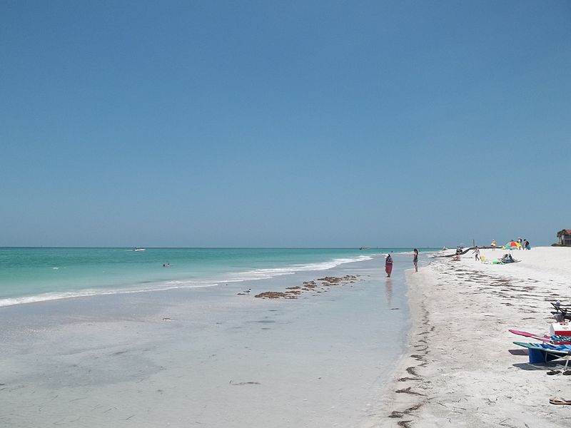 Siesta Key Beach In Sarasota Florida