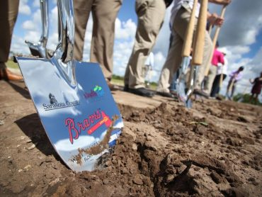 It's official: Atlanta Braves break ground on North Port Site